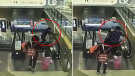 Babičce spadl vnouček z 9 metrů! Tragédii zachytila kamera
