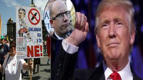 """Trumpův muž: Americký radar v Česku je opět ve hře. """"Sci-fi,"""" odmítá Sobotka"""