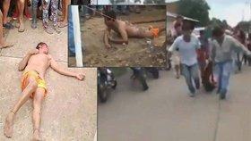 Pedofil znásilnil a zavraždil holčičku (†4): Rozzuřený dav ho ubil k smrti!