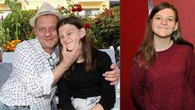 Pubertální dcera Čtvrtníčka Anna: Jeho fóry jsou někdy nesnesitelné