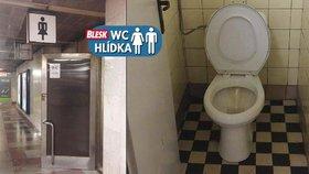 WC hlídka v metru na Andělu: Posadit se na prkénko, chce odvahu
