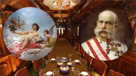 Prožijte luxus jídelního vozu Františka Josefa I.: Přístupný je pouhých 6 dnů