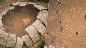 Tajemství Amazonského pralesa: Z letadla vyfotili domorodce, které ještě nezasáhla civilizace!