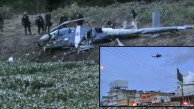 Gang sestřelil policejní vrtulník? Čtyřčlenná posádka je mrtvá