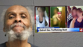Zločinec věznil pět žen a dívek, nutil je k prostituci