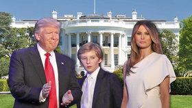 Trump střídá Obamu v Bílém domě. Personál má na výměnu nábytku i fotek 5 hodin