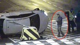 Zaparkoval auto na bok: Mladík vyvázl bez zranění, nadýchal dvě promile