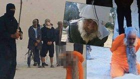 Hrdlořezové z ISIS sťali hlavu 100letému starci: Duchovního obvinili z čarodějnictví!