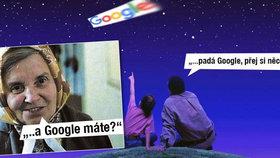 Výpadek Google a YouTube: Padá vyhledávač, něco si přej, utahují si Češi ve vtípcích