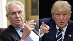 Vděčný Trump volal Zemanovi: Pozval ho do Bílého domu a slíbil návštěvu Česka