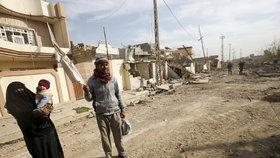 Iráčtí vojáci ovládli další čtvrť v Mosulu. Česko chce do země poslat 10 milionů