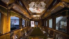 Vnitřek jídelního vozu Františka Josefa I. v neděli vidíte naposledy: Navštívilo ho přes tisíc lidí