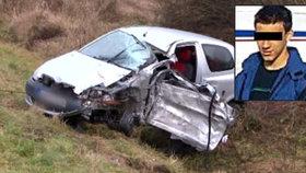 Maturant Eda (†18) zahynul pod koly kamionu: Havaroval cestou ze stužkované
