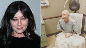 Vyděšená Brenda z Beverly Hills poprvé na ozařování: Nenávidím to!