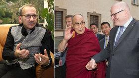 Kubera: Dalajlama je filosofický turista, dopis Číně byl zbytečný