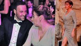 Primátorka na plese v Obecním domě  Ukázala stehno jako Angelina Jolie 7e2d8082b7