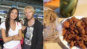 Bývalá anorektička Bučková na zabíjačce: Jen fotila, nebo i jedla?