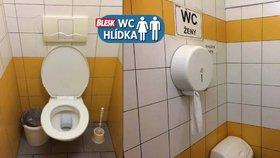 Omšelé, zato čisté a levné: WC hlídku toalety na I. P. Pavlova mile překvapily