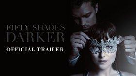 Nový trailer Padesáti odstínů: Víc sexu, romantiky i temnoty!
