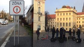 Naděje pro segwaye v centru Prahy: Soud musí žalobu provozovatelů na město řešit znovu