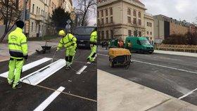 """Na Korunovační se vrátí řidiči. """"Je to ten nejhezčí vánoční dárek,"""" říká starosta Prahy 6"""