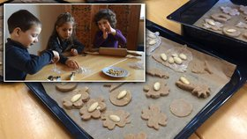To jsou šikulové: Malé děti ve školce upekly cukroví jako překvapení pro rodiče