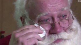 Santa přišel navštívit těžce nemocného chlapce (†5). Ten mu zemřel v náručí