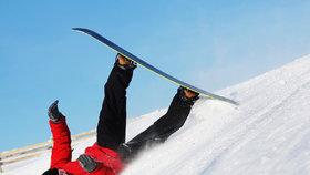 Úrazů na svahu přibývá! Na co si dát pozor (nejen) při lyžování?