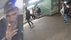 Svetoslav skopl v metru ženu ze schodů: Konečně skončil za mřížemi
