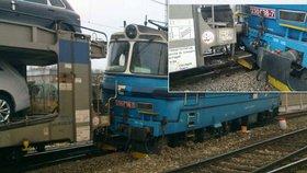 Na Jihlavsku vykolejil vlak: Zastavil dopravu na několik hodin a způsobil škodu v milionech