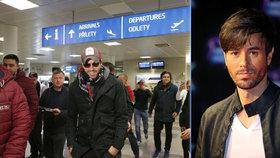 Enrique Iglesias přiletěl do Prahy: Na koncert tady se moc těším, řekl Blesku