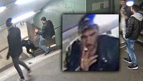 Svetoslav brutálně skopl ženu v metru: Za pokus o vraždu mu hrozí doživotí