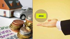 """Bič na """"bourače"""", zdražení hypoték i větší dohled: Rok 2016 hýbal světem financí"""