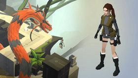 Běž, Laro, utíkej! Recenze Lara Croft Go