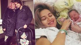 Emma Smetana se dočkala: S malou princeznou Lennon je doma z porodnice