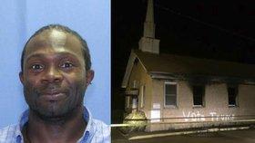 Posprejoval černošský kostel ve jménu Trumpa. Sám je to Afroameričan