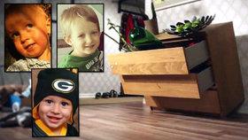 Nebezpečná komoda zabila tři děti: IKEA rodinám vyplatí 1,3 miliardy