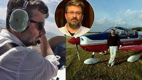 Náměstek Mládka v nebesích: Na jednání do ciziny létá sám, pilotuje české stroje