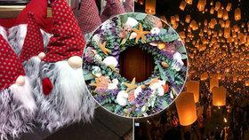 Ozdobený eukalyptus a místo kapra ústřice: Jak svět slaví Vánoce?