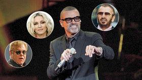 Dojemné vzkazy hvězd: Madonna, Elton John i Ringo pláčí pro George Michaela