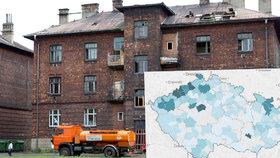 Česko má stovky ghett: Kolik jich je ve vašem regionu?