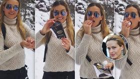 Originální recept Petry Němcové: Zmrzlina ze sněhu a čokolády!