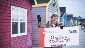 Kanaďanka s rakovinou vsadila čísla ze snu. Dočkala se pohádkové výhry