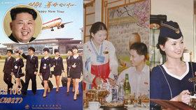 Kim Čong-un má »tajnou zbraň« na turisty: Láká je do KLDR na sexy usměvavé letušky!