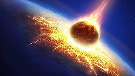 Obří meteorit těsně minul Zemi: Vědci si ho všimli jen 24 hodin před průletem!