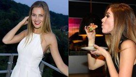 Modelka Andrea Bezděková: Před Miss Universe se pořádně cpe
