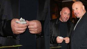 Mecenáš a pracháč Pavel Pásek: Na večírku přepočítával balík peněz!