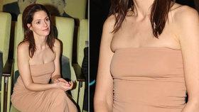 Vyzáblá Klára Issová: Se svými jedničkami se nevešla do šatů!