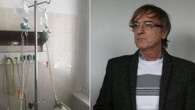 Vážná nemoc Žbirky (64): Nezabrala ani antibiotika! Leží na kapačkách
