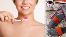 Kdy je čas vyhodit zubní kartáček či bačkory? Životnost 19 věcí, které běžně používáme!